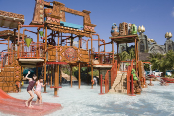 One our several children's pools
