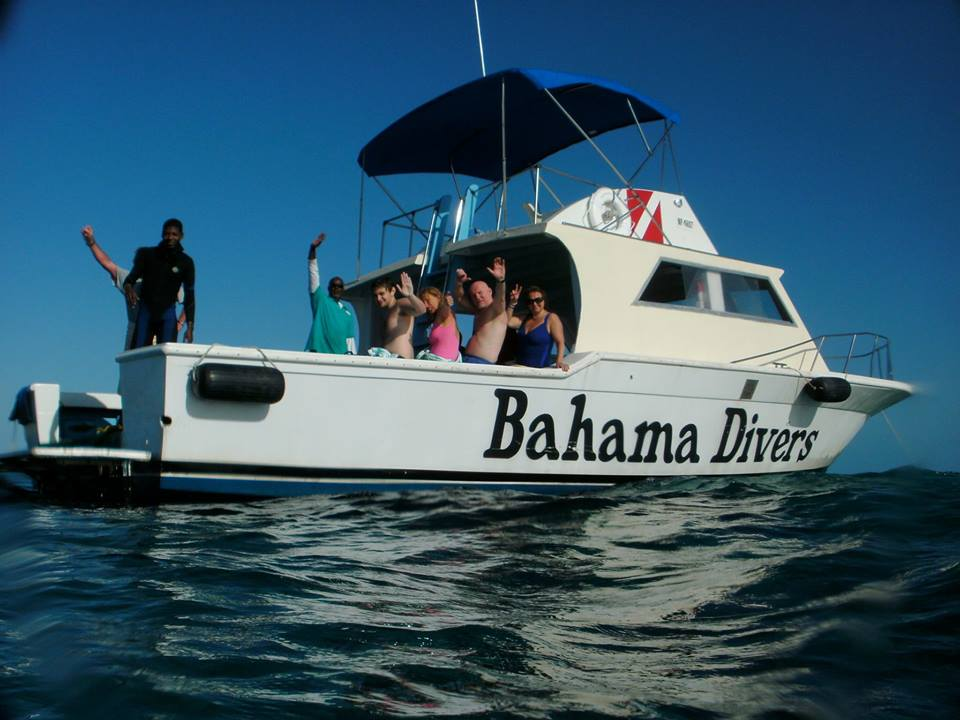 Explore the gorgeous Bahamian waters