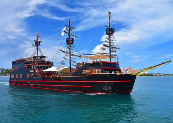 Black Beard Revenge Ship