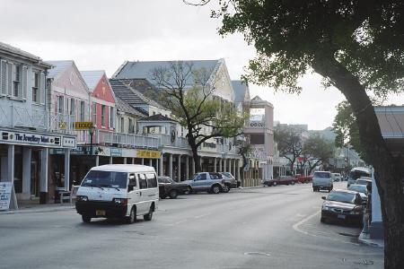 Down town Nassau