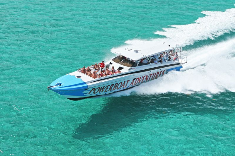 One of our amazing powerboats